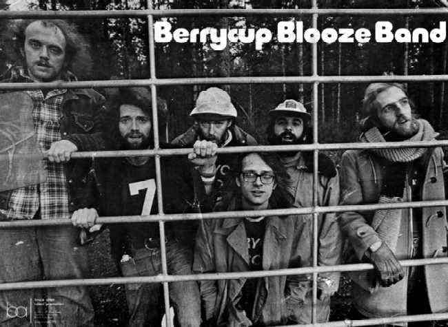 Berrycup Blooze Band, Photo Courtesy of Alan Burns