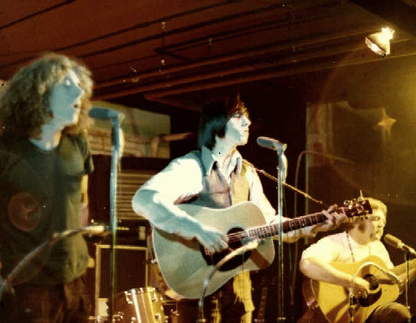Mike,Bill ,Fred at Good Blessing gig 1972 Green Lake North  - Image courtesy of Richard Evans